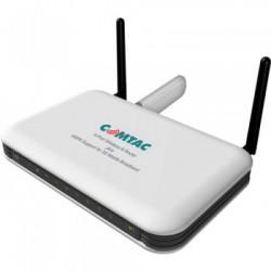 ROTEADOR WIRELESS 300MBPS 4 PORTAS PARA BANDA LARGA 3G N 9129 - COMTAC