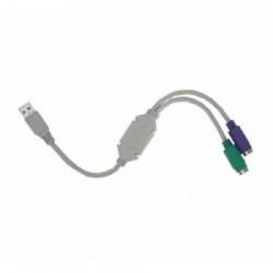 CABO CONVERSOR USB PARA PS2 U/PS2 - HITTO