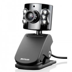 WEBCAM 5.0MP USB COM LED NOTURNO WC040 - MULTILASER
