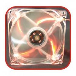 COOLER PARA GABINETE GAMER 12VDC LED VERMELHO 31841 - FORTREK
