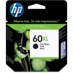 CARTUCHO HP 60XL CC641WB PRETO - HP