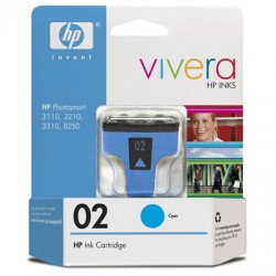 CARTUCHO HP 02 C8771WL CIANO - HP
