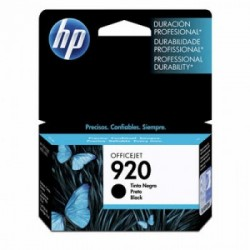 CARTUCHO HP 920 CD971AL PRETO - HP