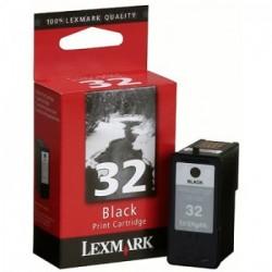 CARTUCHO LEXMARK 32 18C0032 PRETO - LEXMARK
