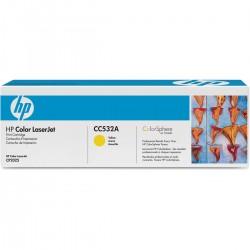 CARTUCHO TONER HP CC532A AMARELO - HP