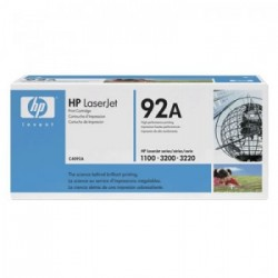 CARTUCHO TONER HP 92A C4092A PRETO - HP