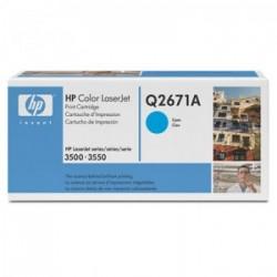 CARTUCHO TONER HP Q2671A CIANO - HP