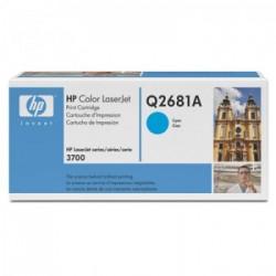 CARTUCHO TONER HP Q2681A CIANO - HP