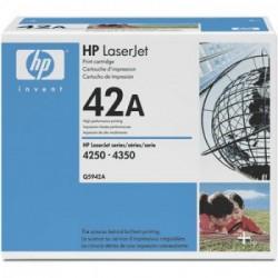 CARTUCHO TONER HP 42A Q5942A PRETO - HP