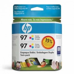 CARTUCHO HP 97 TWIN PACK (2XC9363WL) C9349FL COLOR - HP