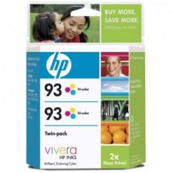 CARTUCHO HP 93 TWIN PACK CC581FL COLOR - HP
