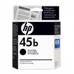 CARTUCHO HP 45B EVERY DAY 51645UL PRETO - HP