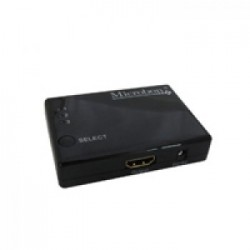 SWITCH HDMI 3 PORTAS MA103 - MICROBON