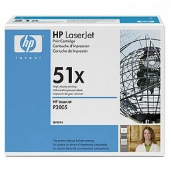 CARTUCHO TONER HP 51X Q7551X PRETO - HP
