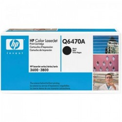 CARTUCHO TONER HP Q6470A PRETO - HP