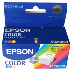 CARTUCHO EPSON S020089 COLOR - EPSON