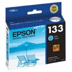 CARTUCHO EPSON 133 AZUL T133220 - EPSON