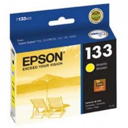 CARTUCHO 133 EPSON T133420 AMARELO - EPSON