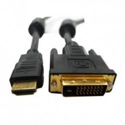 CABO CONVERSOR HDMI X DVI - HDMI/DVI - HITTO