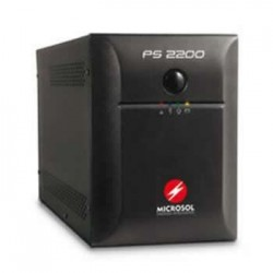 NOBREAK 2200VA PRETO PS2200 - MICROSOL