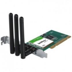 PLACA DE REDE SEM FIO PCI 300MBPS WPN300 - INTELBRAS