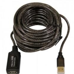CABO EXTENSOR USB 10,0M COM AMPLIFICADOR DE SINAL 9157 - COMTAC