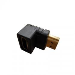 ADAPTADOR HDMI EM 90 GRAUS M/F 020045 - HITTO