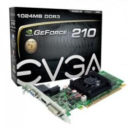 PLACA DE VÍDEO PCIEXP 1GB 64-BIT DDR3 210 01G-P3-1312-LR - EVGA