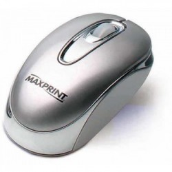 MOUSE ÓPTICO USB PRATA 60210-9 - MAXPRINT