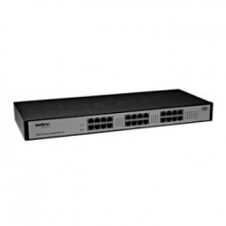 SWITCH 24 PORTAS GIGABIT 10/100/1000 SG2400QR - INTELBRAS