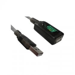 CABO EXTENSOR USB 5,0M COM AMPLIFICADOR DE SINAL WB020044 - HITTO
