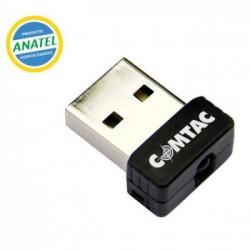ADAPTADOR DE REDE SEM FIO NANO USB 150MBPS 9180 - COMTAC