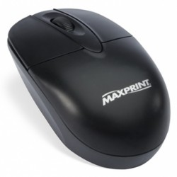 MOUSE ÓPTICO PS/2 PRETO 60606-6 - MAXPRINT