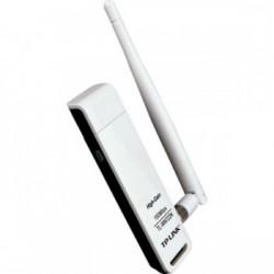 ADAPTADOR DE REDE SEM FIO N USB 150MBPS HIGH GAIN TL-WN722N - TP-LINK