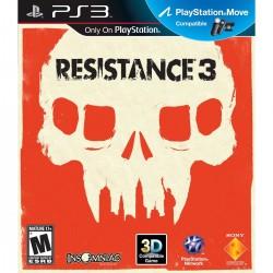 JOGO RESISTANCE 3 3D TIRO EM 1ª PESSOA 2-16 ONLINE PARA PLAYSTATION 3 - SONY