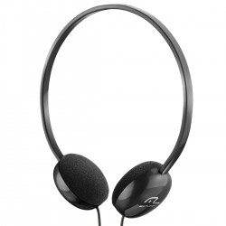 FONE DE OUVIDO HEADPHONE P2 3.5MM PRETO PH063 - MULTILASER