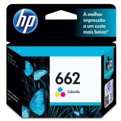 CARTUCHO HP 662 CZ104AB COLORIDO - HP