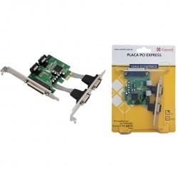 PLACA PCIEXP 1 PARALELA 2SPG-PCI-E - NOVACOMM