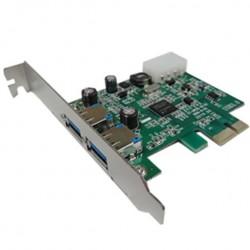 PLACA PCI-E USB3.0 2 PORTAS BSPCI30 - MICROBON