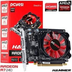 PLACA DE VÍDEO PCIEXP3.0 RADEON R7 240 1GB DDR3 128-BITS H240F1G - PCYES