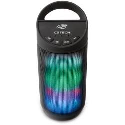 CAIXA DE SOM PORTÁTIL BEAT BLUETOOTH 8 WATTS RMS USB 2.0 WMA/MP3 PRETO SP-B50BK - C3 TECH