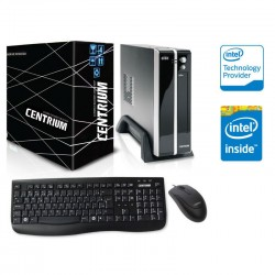 COMPUTADOR THINLINE 3060 INTEL DUAL CORE J3060 1.60GHZ 4GB DDR3 500GB LINUX 325472 - CENTRIUM
