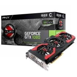 PLACA DE VÍDEO GEFORCE DDR5 GTX 1080 8G 256BIT VCGGTX10808XGPB-OC - PNY