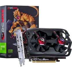 PLACA DE VÍDEO PCIEXP3.0 GEFORCE NVIDIA GT 730 2GB DDR5 128-BITS DUAL-FAN N73T2GD5128DF - PCYES