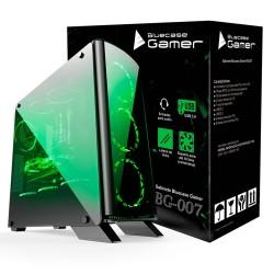 GABINETE ATX GAMER SEM FONTE TODO EM ACRILICO USB 3.0 FRONTAL BG-007 - BLUECASE
